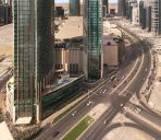 Außenansicht JW Marriott Marquis City Center Doha