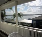 Zimmer mit Terrasse Mangonui Waterfront Apartments Motel