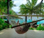 Zimmer mit Terrasse Seabreeze Resort Samoa - Exclusively for adults