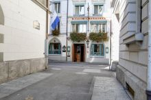 Wilden Mann Romantikhotel Lucern - esence Švýcarska
