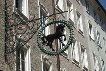 Schwarzes Rössl de stad Salzburg