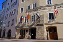 Altstadthotel Weisse Taube de stad Salzburg