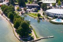 Schlossblick Chiemsee Prien