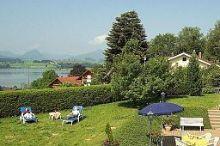 Alpenglühn Hopfen am See