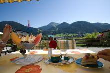 Alpenpanorama Cafe Konditorei Söll