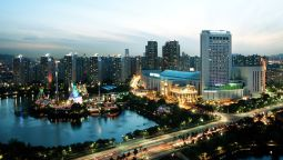 Buitenaanzicht Lotte Hotel World