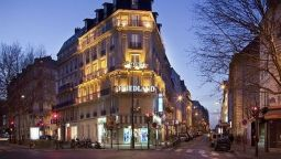 Exterior view Champs Elysees Friedland