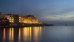 Exterior view Marina Hotel at the Corinthia Beach Resort