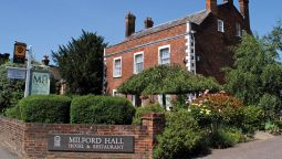 Buitenaanzicht Milford Hall A Classic British Hotel