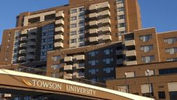 Exterior view Towson University Marriott Conference Hotel