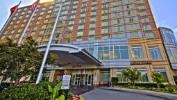 Exterior view Nashville Marriott at Vanderbilt University