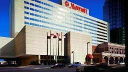 Buitenaanzicht Greensboro Marriott Downtown