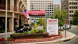 Buitenaanzicht Crystal City Marriott at Reagan National Airport