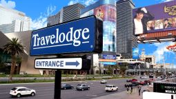 Exterior view TRAVELODGE LAS VEGAS CENTER ST