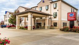 Buitenaanzicht Comfort Suites Mattoon