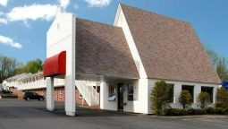 Exterior view Econo Lodge Waterville