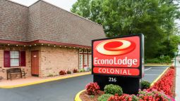 Exterior view Econo Lodge Colonial