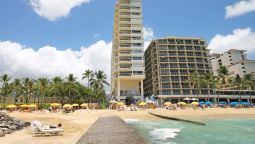 Exterior view CASTLE WAIKIKI SHORE BEACHFRONT CONDOS