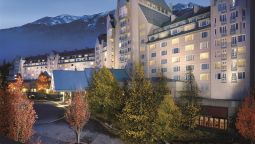 Exterior view Fairmont Chateau Whistler