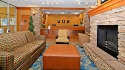Lobby Econo Lodge Inn & Suites University