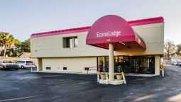 Buitenaanzicht Econo Lodge University
