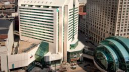 Exterior view Embassy Suites by Hilton Indianapolis Downtown