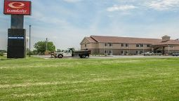 Buitenaanzicht Econo Lodge Shelbyville
