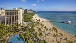 Buitenaanzicht Hilton Hawaiian Village Waikiki Beach Resort