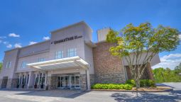Buitenaanzicht DoubleTree by Hilton Raleigh - Brownstone - University