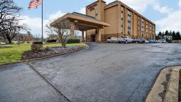 Buitenaanzicht Hampton Inn Morgantown
