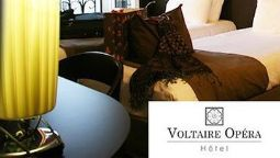 Kamers QUALYS-HOTEL Voltaire Opera