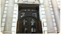 Exterior view Savoy Hotel-Pension
