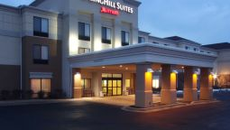 Buitenaanzicht SpringHill Suites Grand Rapids North