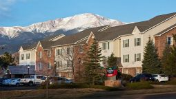 Exterior view TownePlace Suites Colorado Springs Garden of the Gods