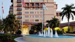 Exterior view Fort Lauderdale Marriott Coral Springs Hotel Golf Club & Convention Center