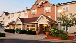 Exterior view TownePlace Suites Bloomington