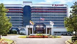 Buitenaanzicht BWI Airport Marriott