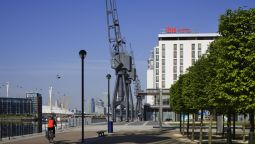 Buitenaanzicht ibis London Excel Docklands