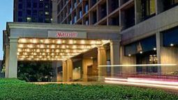Exterior view Dallas Marriott City Center