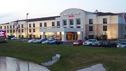 Exterior view SpringHill Suites Savannah Airport