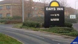 Buitenaanzicht Days Inn London Stansted Welcome Break Service Area