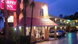 Exterior view Red Carpet Inn St Augustine