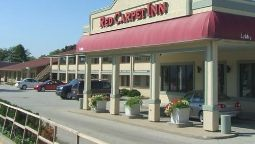 Exterior view Red Carpet Inn Great Lakes