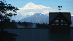 Buitenaanzicht Mt. McKinley Princess Wilderness Lodge