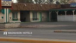 Exterior view Western Motel