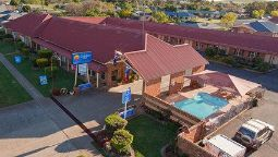Buitenaanzicht Comfort Inn Parkes International