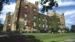 Exterior view Lumley Castle