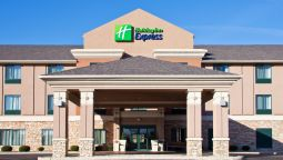 Exterior view Holiday Inn Express GAS CITY