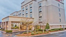 Exterior view SpringHill Suites Charlotte Airport