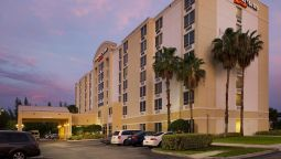 Buitenaanzicht SpringHill Suites Miami Airport South